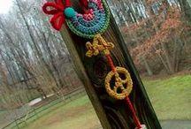 Crochet and knitting / Beautiful handmade