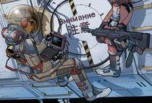 Illustrations - Sci-Fi