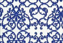 Blue patterns / Bleu, bleu, bleu, patterns en design> patronen in blauwe tinten