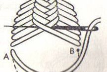 Embroidery patterns and techniques / embroidery patterns> borduur patronen.