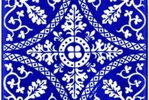 Beautiful tiles / Beautiful tiles, tile motives: mooie tegels, tegelmotieven