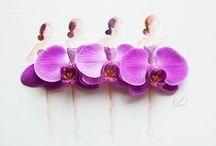 Flower art / flower arrangement, artistic surfaces of flowers,Ikebana