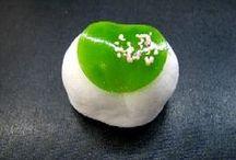 Wagashi / Japanese sweets for seasons