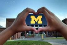 hoMe / anything and everything University of Michigan. HAIL!!  / by Rhody Guzman-Easter