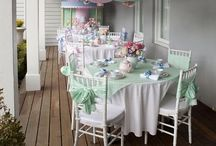 To die for Tea Parties / A collection of the incredible possibilities of a Tea Party and the set up's we may find.