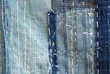 Embroidery Sashiko, Boro / Sashiko embroidery, Boro examples