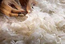 Atelier Lemarié Paris / Atelier lemarié haute couture; Houte couture atelier, broderie d'art,