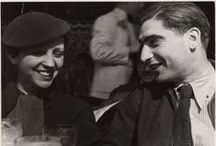 Robert Capa  (1913-1954) / One of my favourite photographers, who is also my countryman. Sadly he died too young.Think what he could have achieved if he would have lived longer. There are also some of Gerda Taro's photos. She was Capa's partner, but got killed in the Spanish Civil War / by Veronika Wellings