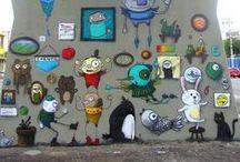 Arte brasileira - urban/street art / Arte de rua no Brasil, ou feita por brasileiros em qualquer lugar do mundo.