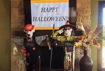 Rancho & Sienna: Our Friendly Scarecrows / Scarecrows Rancho & Sienna are gearing up for the #RanchoSiennaGrandOpening & Harvest Festival on October 25! Join them on their journey around town - they'll be stopping at all of their favorite spots!