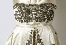 Vintage embroidered dresses / Vintage dresses with embroidery