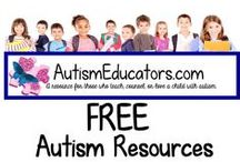 FREE Autism Resources / Find newly added freebies to use in your special needs classroom, speech or therapy room, or for use at home!  ALWAYS free, never a fee!  Check back weekly for more activities!