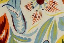 Raoul Dufy textile design / Raoul Dufy, textile design, paintings