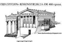 Grecja antyczna / szkice zabytków greckich