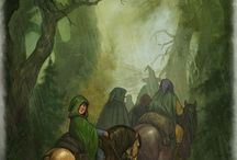 One Ring Character art / Non-Agro Classic fantasy characters and environments  / by Roy Thomas