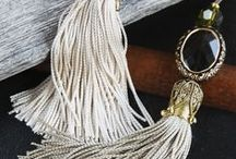 Tassels / Tassels, inspiration with tassels, colors and embroidery