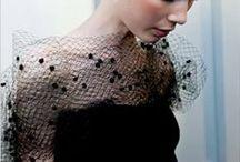 Haute coutere black / Couture, fashion, black