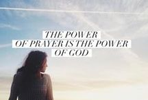 Power in Prayer / Wisdom and encouragement for forming a strong prayer life.