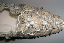 Shoes, wow! embroidered / Shoes, beautiful embroidery on it. Beautiful pattern and design. Vintage design.