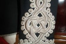 Soutache patterns / Patterns and inspiration with soutache and twisted cord
