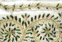 Beetle wings / Beetle wing embroidery