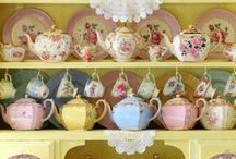 Teapots, Teacups and Saucers