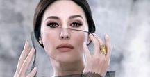 Monica Bellucci / A woman who can appeal without doing anything.  Just being herself and a strong feeling is somewhere in her soul and a bit sad eyes. Pure beauty.