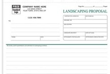 Landscaping Forms & more! / Work orders, invoices, proposals/estimates and other business products providing solutions to help up you manage and grow your business.