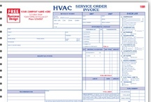 HVAC Contractor Forms & more! / Work orders, invoices, proposals/estimates and other business products providing solutions to help up you manage and grow your business.