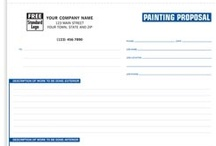 Painting Contractor Forms & more! / Work orders, invoices, proposals/estimates and other business products providing solutions to help up you manage and grow your business.