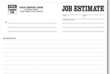 General Contractor Forms & more! / Work orders, invoices, proposals/estimates and other business products providing solutions to help up you manage and grow your business.