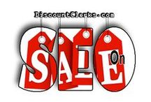 """SEO on Sale - Deals & Discounts - #DiscountClerks / http://DiscountClerks.com/ - Features all the Latest, up-to-date, SEO & Social Media Services currently """"ON-SALE"""", including Special Deals, Coupons, & Promos from Service Providers."""