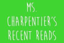 Ms. Charpentier's Recent Reads