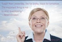 ** Inspiration for Marketers ** / Inspirational quotes from my highflyingmarketers.com and melaniecoppola.com blogs