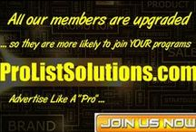 ProListSolutions.com / When it comes to choosing the correct list to mail your ads to, it's quality you should really care about, not quantity!   That's why having a fresh, responsive list of prospects (or potential customers), is vital for your mail advertising campaign.   At ProListSolutions.com you can tap into an existing list filled with quality prospects and active buyers.   / by http://www.etrafficforever.com