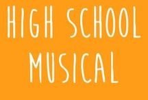 High School Musical (March 2015) / A selection of books that have been made into musicals and books about plays. Break all your legs this weekend, drama and crew!