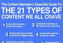 Content Marketing / For the love of all things content marketing and inbound marketing. Content is king!
