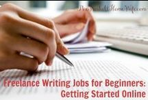 Freelance Writing / Resources for entrepreneurial marketers who want to try their hand at freelance writing or marketing.