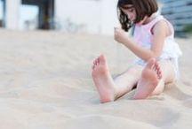 On the beach and pool  - En la playa (y piscina!) / Wonderful pictures of children on the beach or swimming pool - Fabulosas fotos de niños en la playa y en la piscina (agua por todas partes)