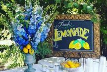 Custom Signage and Chalkboard Art / hand drawn art and free hand lettering on chalkboards for weddings and other events
