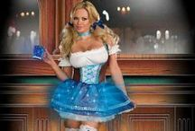 Beer girl cosplay