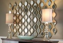 Mirror Mirror / DIY ideas for beautiful mirrors that can quickly and easily elevate a rooms design and light.