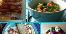 Meal Plans / Tips for planning meals to save time and money.