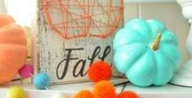 Fall Decor / Lovely colors of Fall to inspire the designer in you.