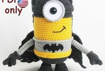 Batman Minion Flying Hero amigurumi crochet toy / Your projects made using our patterns The pattern is available for sale: ETSY: https://www.etsy.com/shop/jasminetoys RAVELRY: https://www.ravelry.com/patterns/sources/amigurumi-fairs-ravelry-store #amigurumi #crochet #crochetpattern #ilovecrochet #amigurumidoll #amigurumipattern #minions #despicableme