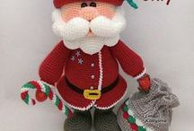 Santa Claus Amigurumi Christmas crochet pattern / Your projects made using our patterns The pattern is available for sale: ETSY: https://www.etsy.com/shop/jasminetoys RAVELRY: https://www.ravelry.com/patterns/sources/amigurumi-fairs-ravelry-store #amigurumi #crochet #crochetpattern #ilovecrochet #amigurumidoll #amigurumipattern #christmascrochet #santaclaus #Newyear #christmasamigurumi #christmas