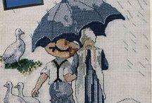 Beautiful embroidery ! / Belle cose trovate qua e là