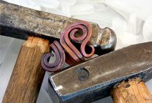 Coppersmith / Handmade copper jewelry and various copper items. / by G Montoya