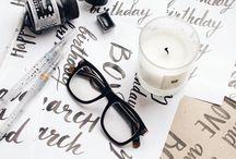 L E T T E R I N G. / Lindas fontes e letterings feitas a mão para inspirar você <3
