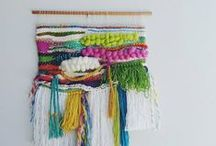 KNIT  ON! / All ways of DIY with yarn: weaving, knitting, crochet...